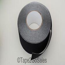Negro Antideslizante Cinta non Skid alto agarre fuerte Adhesivo con respaldo - 50 Mm De Ancho