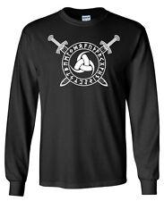 Odin Horn Sword Rune LONGSLEEVE T-shirt - S to 5XL - Norse Odin Viking Thor