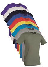 fd424d48 Hanes Stedman Plain No Logo 100% Cotton Slim Fit T-Shirt Tee Shirt Tshirt