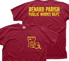 TRUE BLOOD Renard Parish Public Works Vampire JASON ERIC Fangtasia t-shirt F9783