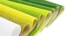 Fake Grass Turf Lawn Adhesive Paper Scenery Landscape Mats Miniature Model Green