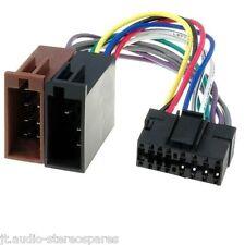 JVC  Cd player/cassette player KD KS wiring harness loom 16 pin - new jvc iso