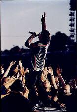 FOTO ORIGINALE U2 CONCERTO DUBLIN 2001 SLANE CASTLE