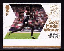 2012 London Olympic Games Team GB Gold Medal Winner - Mo Farah Men's 5000m