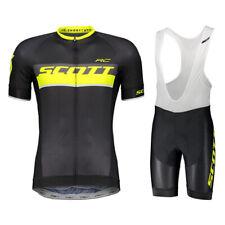 2019 Mens Cycling Clothing Team Bike Short Sleeve Cycling Jersey Bib Shorts sets