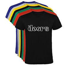 Camiseta The Doors logo banda de rock Hombre varias tallas y colores a062