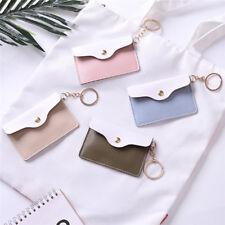 1Pc Cute Mini Purse Card Id Coin Case Key Ring Wristlet Wallet Clutch FashionEP