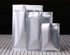 Mylar Foil Bags Aluminium Foil Sachet Pouch with ziplock Heat Seal - Food Grade