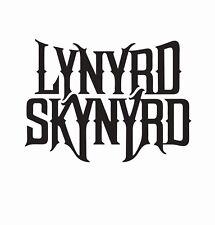 Lynyrd Skynyrd Music Band Die Cut Car Decal Sticker - FREE SHIPPING