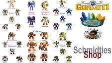 Gormiti Cartoon 2-seleccione sus personajes!