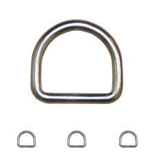 D-Ringe Edelstahl D Ring V4A Öse VA Ösen A4 Edelstahlring D-Ring