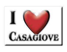 CALAMITA CAMPANIA ITALIA FRIDGE MAGNET MAGNETE SOUVENIR I LOVE CASAGIOVE (CE)