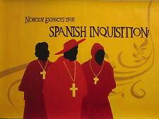 Monty Python La Inquisición Pintura Al Óleo 28x16 no de una impresión o Poster Enmarcado disponibles.