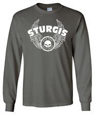 STURGIS iron wings LONGSLEEVE T-shirt - Harley Davidson Bike Week Motorcycle