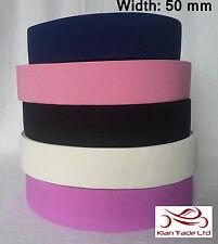 """Infermiera Cintura rendendo Elastica Cinghia Larga 2"""" (50mm) rendono il proprio. tutti i colori-Rah"""