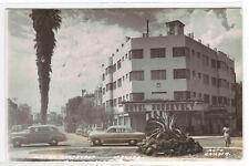 Hotel Roosevelt Cars Mexico 1954 RPPC postcard