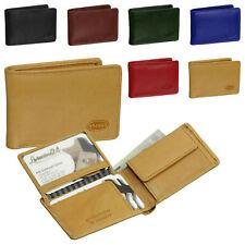 Branco Leder Minibörse Portmonee Geldbeutel kleine Geldbörse 12022 vers. Farben
