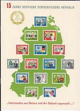 DDR - Briefmarken - 1964 - Block 19 - Postfrisch