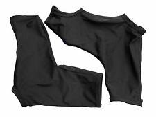 Shoe Covers Lycra - Plain Black with Zipper Goodstar GS124L