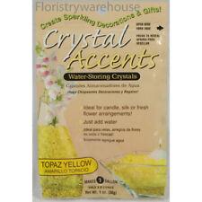 Crystal accents eau stockage gel 4LITRE topaz jaune