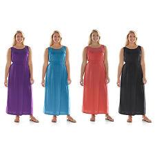 NWT Juniors' Plus Size Wrapper Illusion Smocked Knit Maxi Dress Size 1X/2X/3X