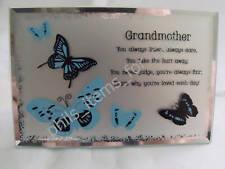 Grandmother Grandma Nanna Mirror Plaque Ideal Gift