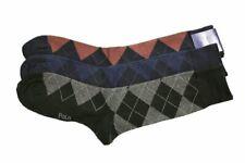 Polo Ralph Lauren 3-Pairs Argyle Dress Socks