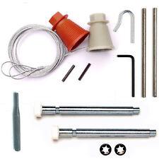 CARDALE WICKES CD45 Garage Door Spares Cones Cables Roller Spindles Repair Kit