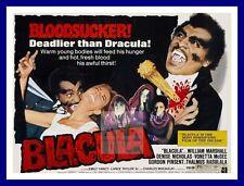 Blacula     Vampire Dracula Movie Posters Classic Vintage Film