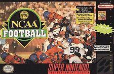 NCAA Football (Super Nintendo Entertainment System, 1994) CART ONLY