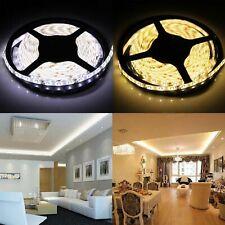5M 10M 20M 12V 3528 5050 5630 LED Flexible Strip Light Lamp Warm White Tape US