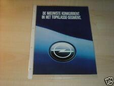 10152) Opel Omega A Caravan 2.6i Holland Prospekt 198?