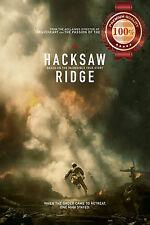 NEW HACKSAW RIDGE MOVIE SECOND WORLD WAR USA EXPLOSION ART PRINT PREMIUM POSTER