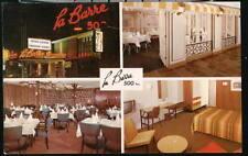 MONTREAL QUEBEC La Barre 500 Motel Restaurant Vtg Postcard Old Canada PC