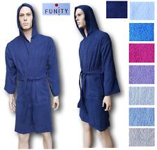 FUNITY. Albornoz Unisex CM0177 con capucha terry algodón 100%