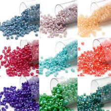 1500 Miyuki Delica #11 Rainbow Glass Seed Beads 11/0 Matte & Shiny  7.5 Grams