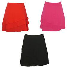 Ladies Chiffon Rara Layered Frill Skirt