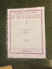 Collection Les Classiques de la flûte partition éditions Leduc