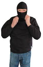 CI Ninja Hoodie Kapuzenpullover Pullover Kapuzenpulli Pulli Schwarz S-XXL