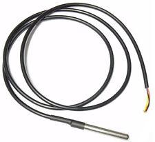1 / 3 DS18b20 Temperatursensor Temperaturfühler Thermoelement wasserdicht 156