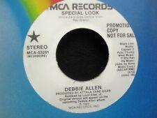 """Debbie Allen - SPECIAL LOOK Promo 7"""" Single - NM [1989]"""