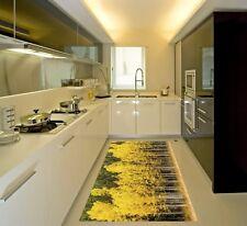 3D Jaune Woods 78 Cuisine Tapis Sol Murales Mur Imprimer mur AJ papier peint UK Kyra