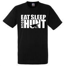 Eat Sleep Duck Hunt T SHIRT RINGER VEST