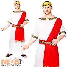L'Imperatore Romano Toga Da Uomo Costume Adulti storico Greco Costume Outfit Nuovi