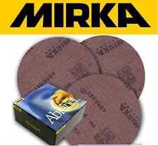 MIRKA CARTA ABRASIVA GRANA 100 cod. 5424105010 - 50 PEZZI ABRANET 150 mm GRIP