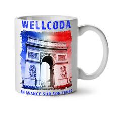 PARIS triophe wellcoda NUOVO Tazza Da Caffè Tè Bianco 11 OZ (ca. 311.84 g) | wellcoda