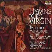 NEW 3 CD Set Hymns to Virgin Pachelbel  Fugues Magnificat MJ Newman Voxbox 1999