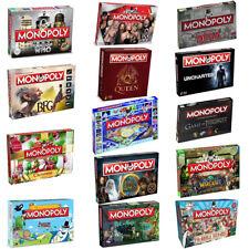 Monopoly Board Game EDIZIONI SPECIALI - 2017 full range da Winning Moves