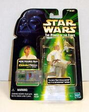 Star Wars Luke Skywalker w/ T-16 Skyhopper Model POTF Free Ship w/ Pro Packing