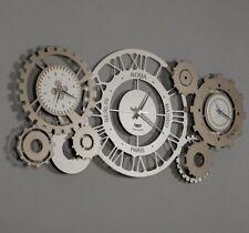 Orologio da muro parete moderno steampunk Fuso Meccano design Arti e Mestieri